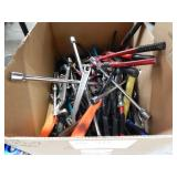 HAND TOOLS  LOT OF ASSORTED TOOLS