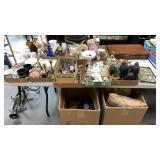 Assorted Flatware, Utensils, Figurines, Cups, Deco