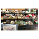 Glasswares, Figurines, Plates, Holiday Decor