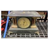 Mantle Clock: No Key: Rough