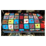 Hand Knotted Multi Color Quilt