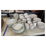Jc Penny Homeware Dishware Set: Apx 60 Pcs