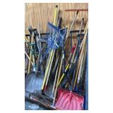 Assorted Long Handle Tools: See Pics For Details