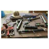 Grease Guns, Hard Hat, Gas Pump Handles,