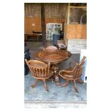 """Table & 3 Chairs: 31"""" Tall, 41"""" Diameter"""