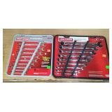 Craftsman 9 Pc Inch & 9 Pc Metric Combo Wrenches
