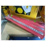 """7 Craftsman Socket Rails: 3/8"""", 1/4"""", 1/2"""" Size"""