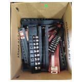 Box Of Assorted Craftsman Sockets, Rails,