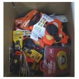 Box Of Assorted Brand & Size Tape Measures