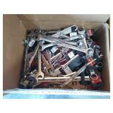 Box Lot Of Assorted New Wrenches: Craftsman, Ace