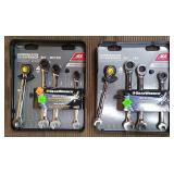 Gear Wrench 4 Pc Metic & 4 Pc Sae Ratchet