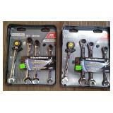 Gear Wrench 4 Pc Metric & 4 Pc Sae Ratchet Wrench