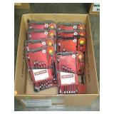 Box Lot Of Craftsman 8 Pc Ratchet Wrench Sets