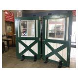 1930's - 1960's Gasoline Alley Doors.
