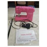 Pink Janome New Home sewing machine