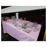 Crystal glassware group