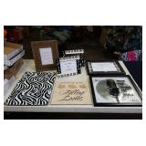 Music themed picture frames & others