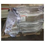 Pallet of corrugated shipping & display boxes.