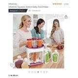 Infantino Squeeze Station Baby Food Maker- no