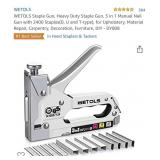 Staple Gun, Heavy Duty Staple Gun, 3 in 1 Manual
