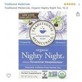 Traditional Medicinals Organic Nighty Night Tea,