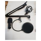 Microphone kit pieces.