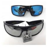 Set of Choppers Wrap Around Riding Sunglasses