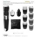 Philips Norelco MG3750 Multigroom All-In-One