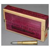 (1) box Winchester .30 Army Full Patch 220 gr. for