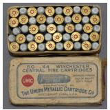 UMC .44 Winchester Central Fire cartridges 200 gr.