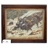 """A.B. Frost print """"We"""
