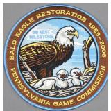 "PA Game Commission ""Bald Eagle Restoration"