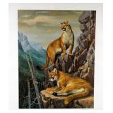 """High Country Cats"" by RC Kray limited edition"