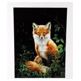 """Foxy"" by Susan Sponenburg limited edition print"