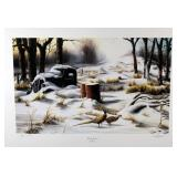 """Winter Retreat"" by Jim Hansel limited edition"