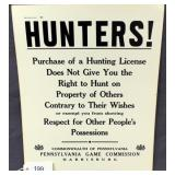 """Hunters! Purchase of a hunting license does not"