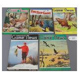 lot of 4 PA Game News March, May & August 1949,