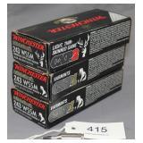 (3) boxed Winchester .243 WSSM Winchester Super