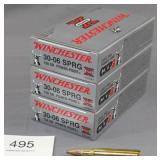 lot of 3 full boxed Winchester Super X .30-06 Sprg