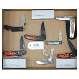 lot of 7 asstd. pocket knives