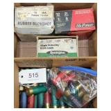 asstd. lot of 12 & 16 ga. shotgun shells, UPS SHIP