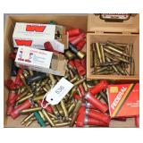 lot of asstd ammo & brass to include mostly full