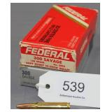 (2) boxes Federal Factory .300 Sav. 150 gr.