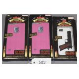 (3) Gibson iPhone 5 & 5S and Samsung .45 and AR-15
