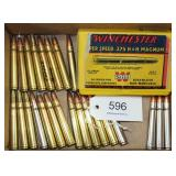 44 cartridges loose and boxed .375 H&H Magnum