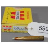(1) full box 300 H&H Winchester 180 gr. EB factory