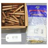 (86) rds. 7x57 mm ammunition & bag of