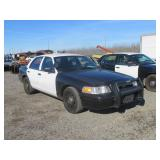 2008 Ford Crown Victoria Police Interceptor Sedan