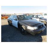 2006 Ford Crown Victoria Police Interceptor Sedan