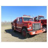 1980 International 1824 Fire Truck